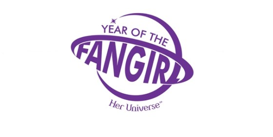 Year of the Fangirl logo wide