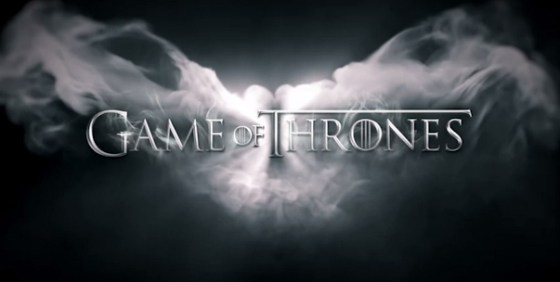 Game of Thrones s3 title logo wide