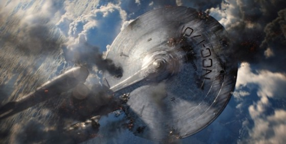 Star Trek ID 207 Enterprise smoking wide