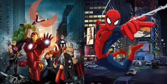 Marvel's Avengers Assemble Ultimate Spider-Man wide