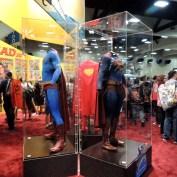 SDCC 2013 14 exhibit hall superman uniforms 1