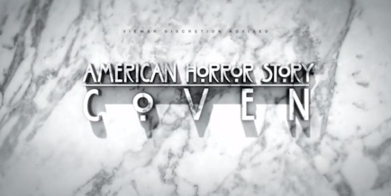 American Horror Story Coven logo wide