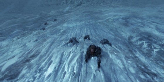 Game of Thrones s3 Spin VFX wall wide