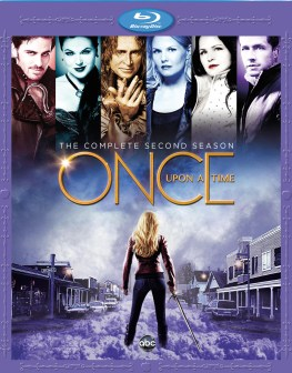Once Upon A Time Season Two Bluray cover