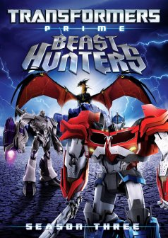 Transformers Prime Beast Hunters DVD cover