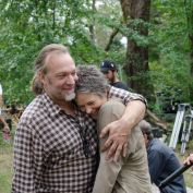 The Walking Dead BTS 414 greg carol