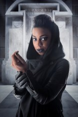 Picture shows: Pippa Bennett-Warner as Saibra