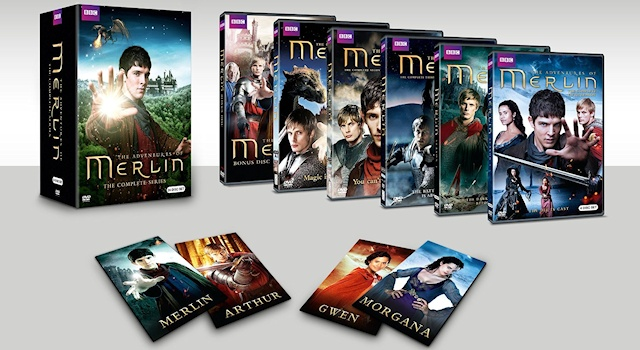 Merlin Complete Series box set wide1