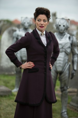 Picture shows: MICHELLE GOMEZ as Missy, Cybermen