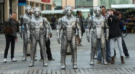 Picture shows: Cybermen