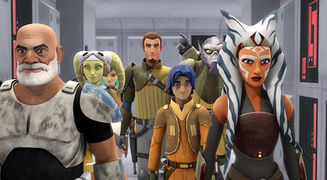 Star Wars Rebels s2 premiere group WIDE