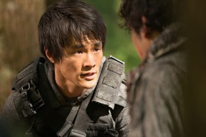 "The 100 -- ""Wanheda: Part Two"" -- Image HU302B_0359 -- Picture: Chris Larkin as Monty -- Credit: Diyah Pera/The CW -- © 2015 The CW Network, LLC. All Rights Reserved"