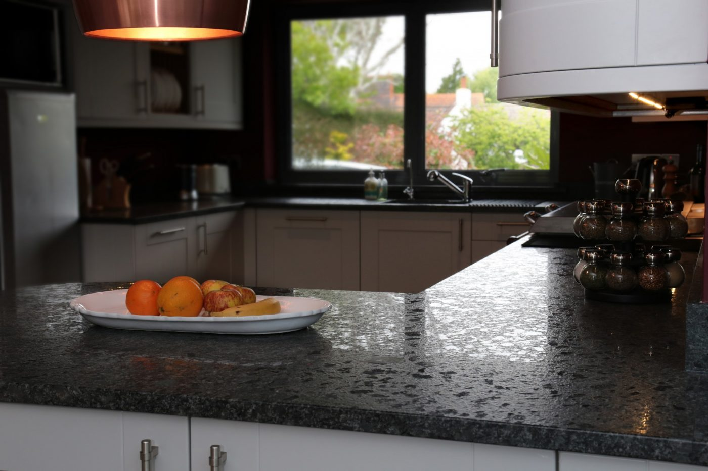 Kitchen Island Devon Kitchen Worktop Projects In Granite And Caesarstone