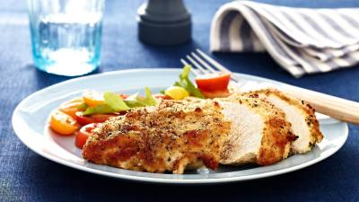 Parmesan Crusted Chicken Recipe