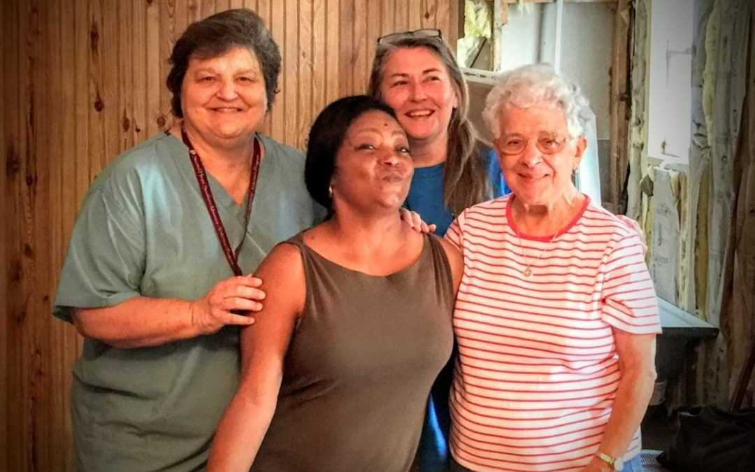 Volunteers visit Holy Springs, Miss.