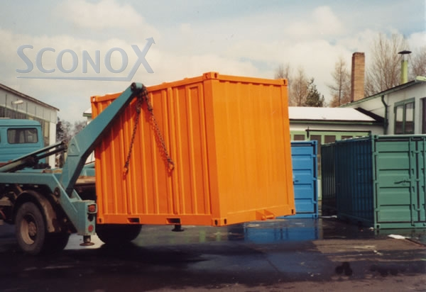 Seecontainer Preise So2-stahlcontainer - 2,93 X 1,85 X 2,25 M, Absetz - Sconox