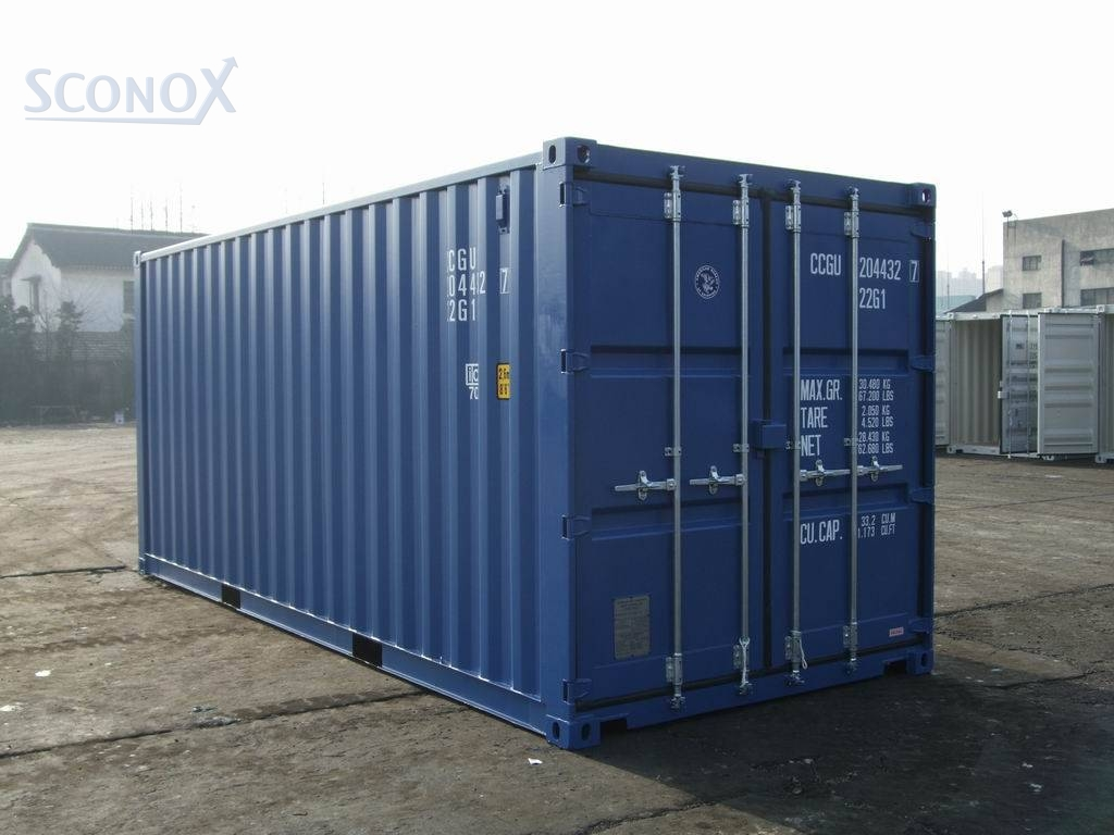 Seecontainer 20' Seecontainer Neuwertig, Iso Container 20'gp