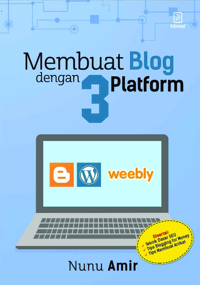 Blog Blogspot Wordpress Jual Buku Membuat Blog Dengan 3 Platform Blogspot