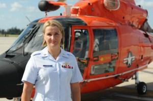 Chief Aviation Survival Technician Karen Voorhees