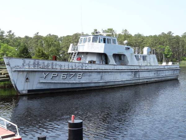 The Quot Ultimate Quot Naval Academy Patrol Boat Could Be Yours