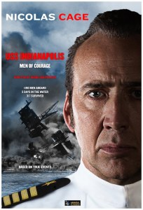 The promotional poster for the upcoming film, USS Indianapolis: Men of Courage. (Courtesy of Hannibal Classics)
