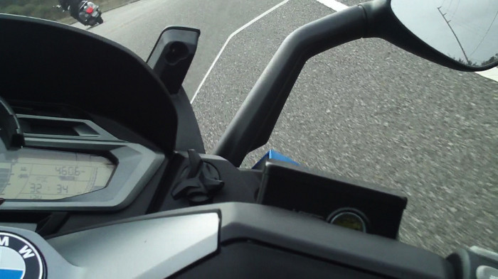 Not quite a knee-dragger, but the handling and lean angles on the BMW scooters should please most riders.