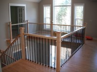 Hardwood Staircase Pictures - Stairway & Railing Picture ...