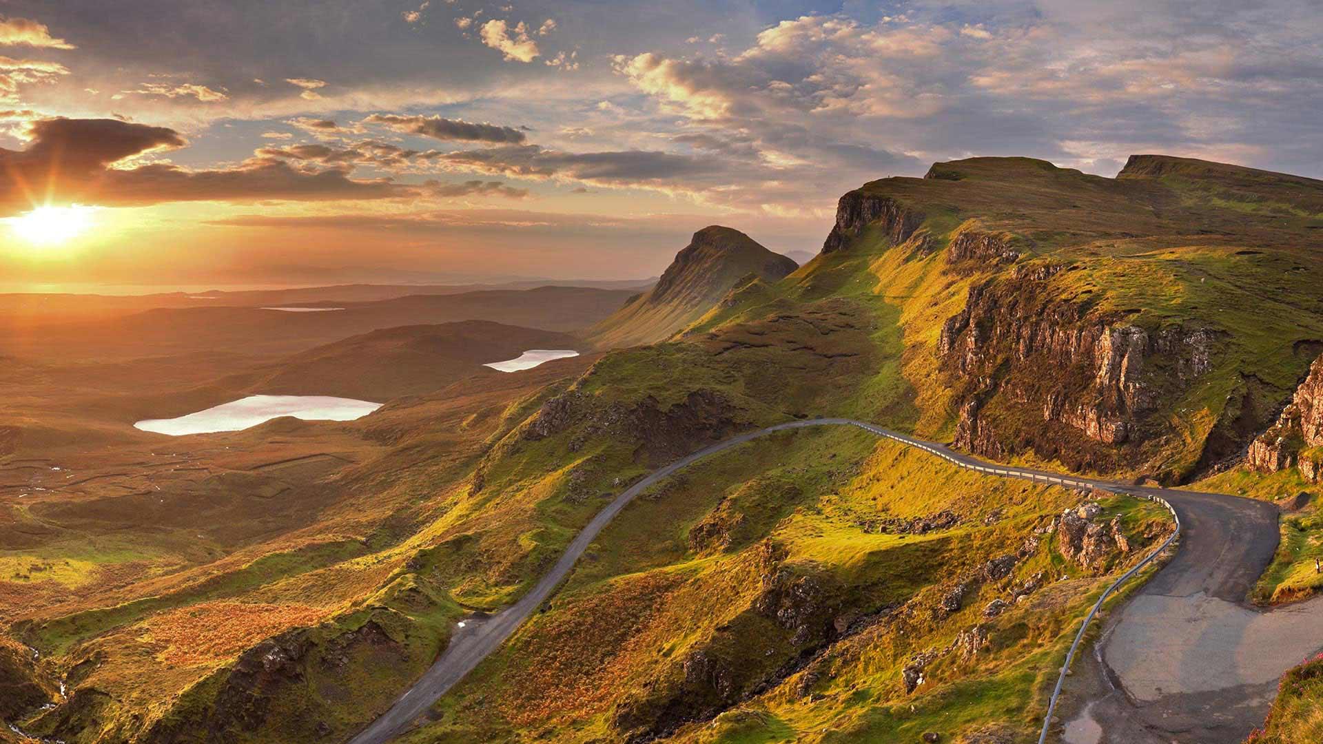 Celtic Wallpaper Hd Quiraing Scottish Tours Nordic Visitor