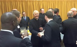 BOYLE - Cardinal Wuerl among Students (1)