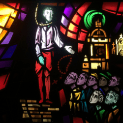 St. John Ogilvie - Stained Glass