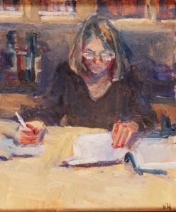 woman-writing-oil-on-linen-by-valerie-hardy1-248x300