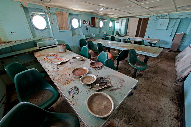 Inside the Ghost Ships of the Mothball Fleet Beyond the Photos