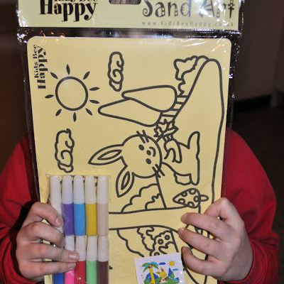 Sand Art Home Packs from Kids Bee Happy