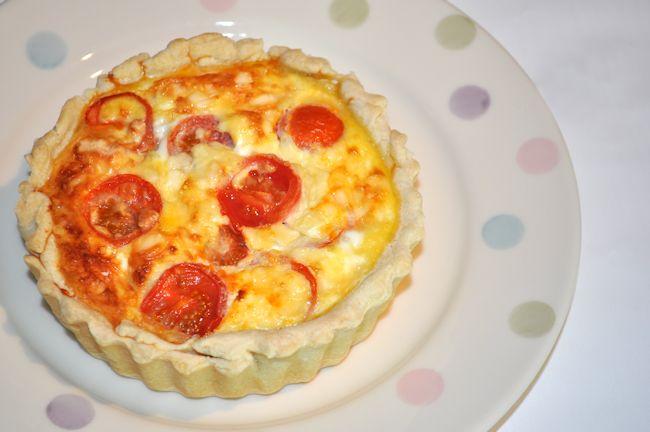 Cheese & Tomato Quiche 2