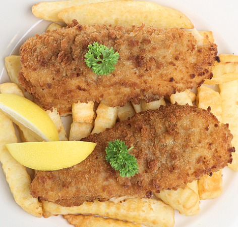 Breadcrumbed Cod and Chips For A Homemade Fish Supper