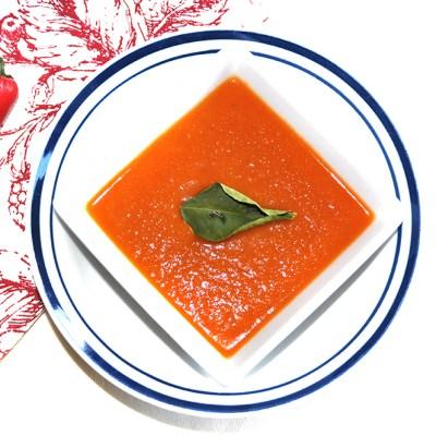 Soupmaker Recipe:  Sweet Spud and Chilli Tomato