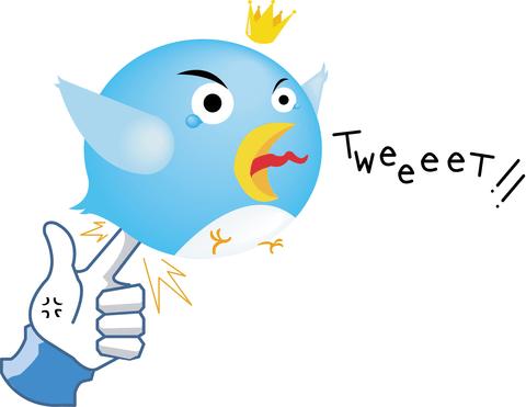 Twitter Like - Dislike