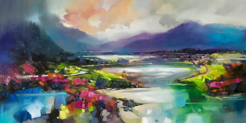 120 x 60cm Highland Light and Shade by Scott Naismith