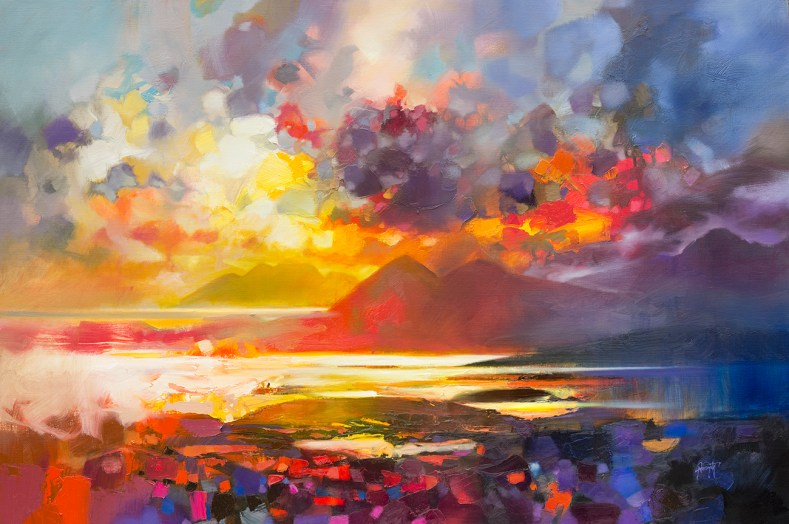 150 x 100cm Rum Skye and Raasay by Scott Naismith