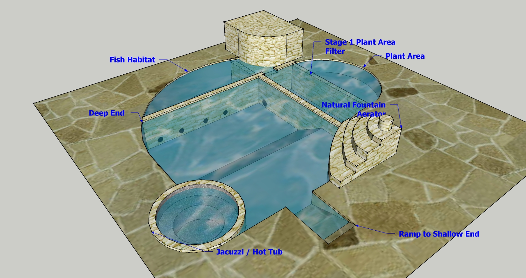 Eco friendly pool designs solar heating and bio filter interior - Eco Friendly Pool Designs Solar Heating And Bio Filter Interior Natural Swimming Pool Design View Download