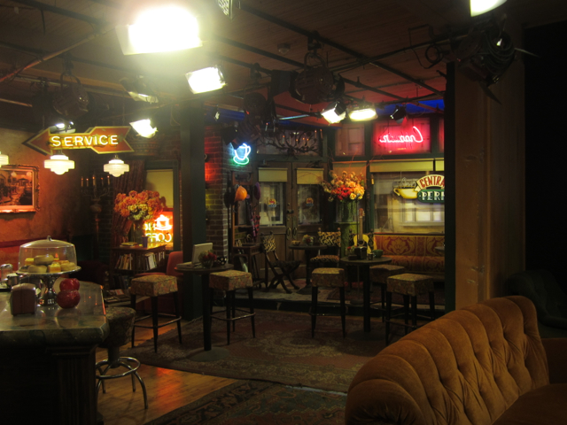 Central Perk looks so much bigger on TV