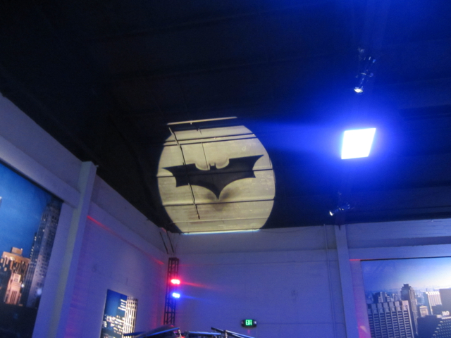 It's the Bat-Signal!