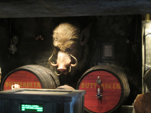 Inside the Hog's Head Tavern