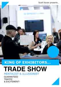 Magician for your next trade show