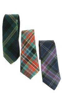 Extra Long Tartan Tie by Scotweb