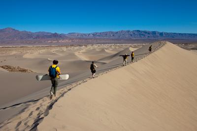 Death Valley Sandboarding Dune