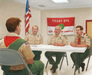 Boy Scout Image -- Board Review