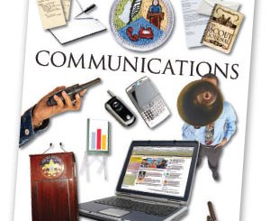 Boy Scout Image -- Communications