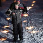 Boy Scout Image -- Cross Country Skiing
