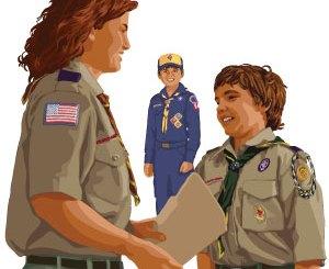 Boy Scout Image -- Den Chief